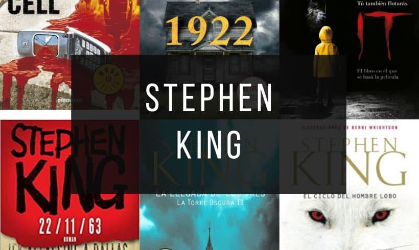 Los Mejores 25 Libros de Stephen King